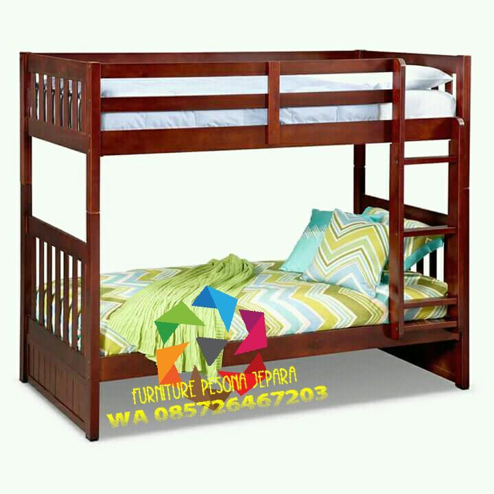 Ranjang susun Tempat tidur anak. PESONA JEPARA 08