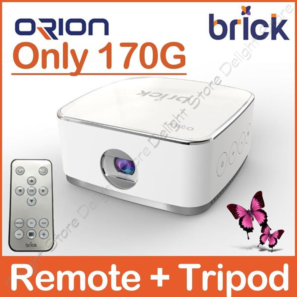 ORION KOREA Brick Wireless Miracast Smart Mini Beam Proyektor-Intl