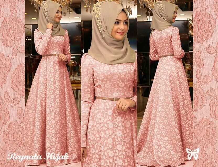 LF Dress Wanita Gamis   Gamis Wanita   Muslim Cewek   Gamis Dress   Set  Terusan da475a09e9