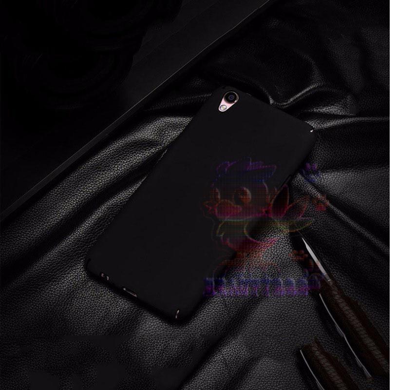 Case Oppo Neo 9 A37 Hard Slim Black Mate Anti Fingerprint Hybrid Case Baby Skin Oppo
