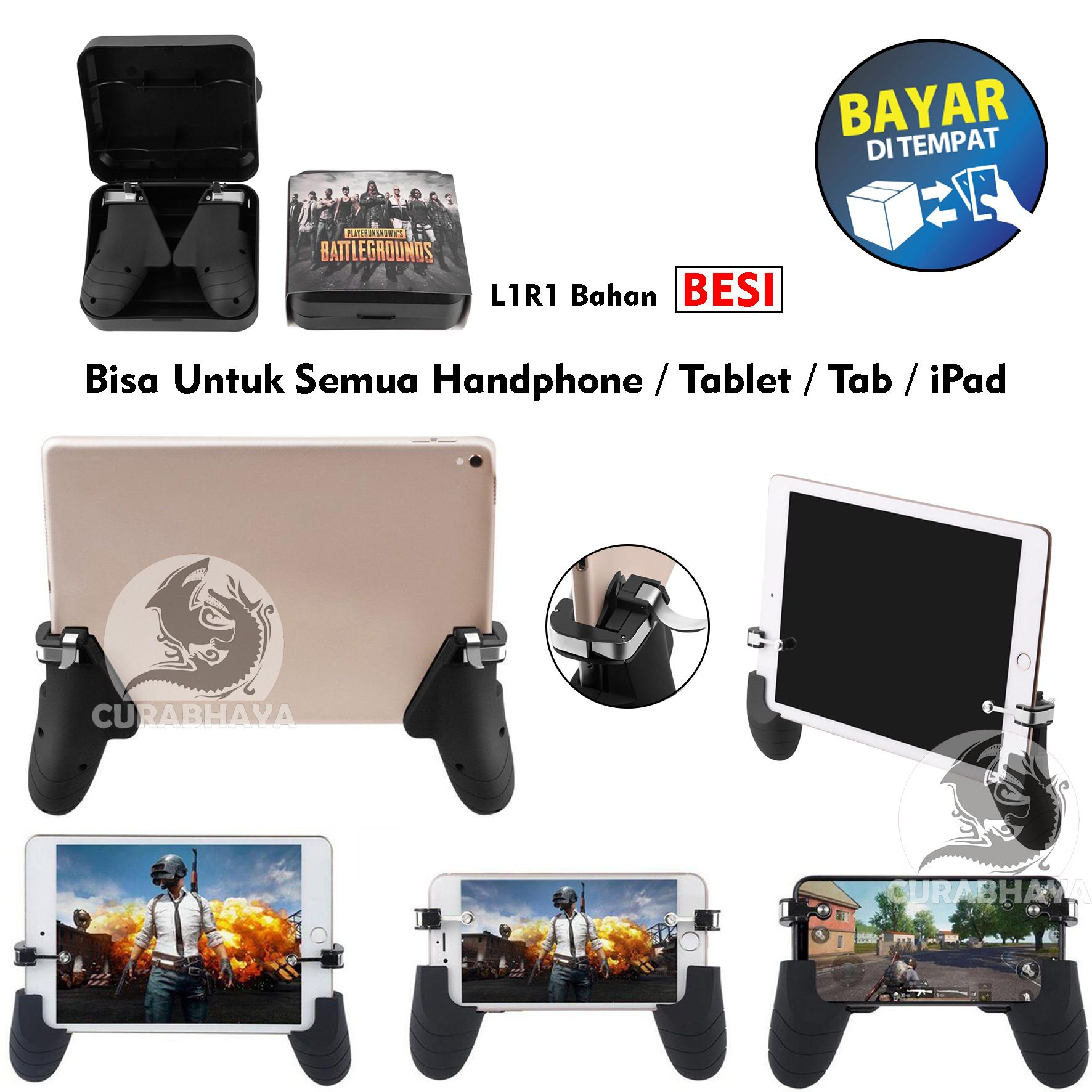 R9 Gamepad Controller MOBA FPS Joypad Handle Grip Android iOS Universal Tablet Tab iPad for PUBG
