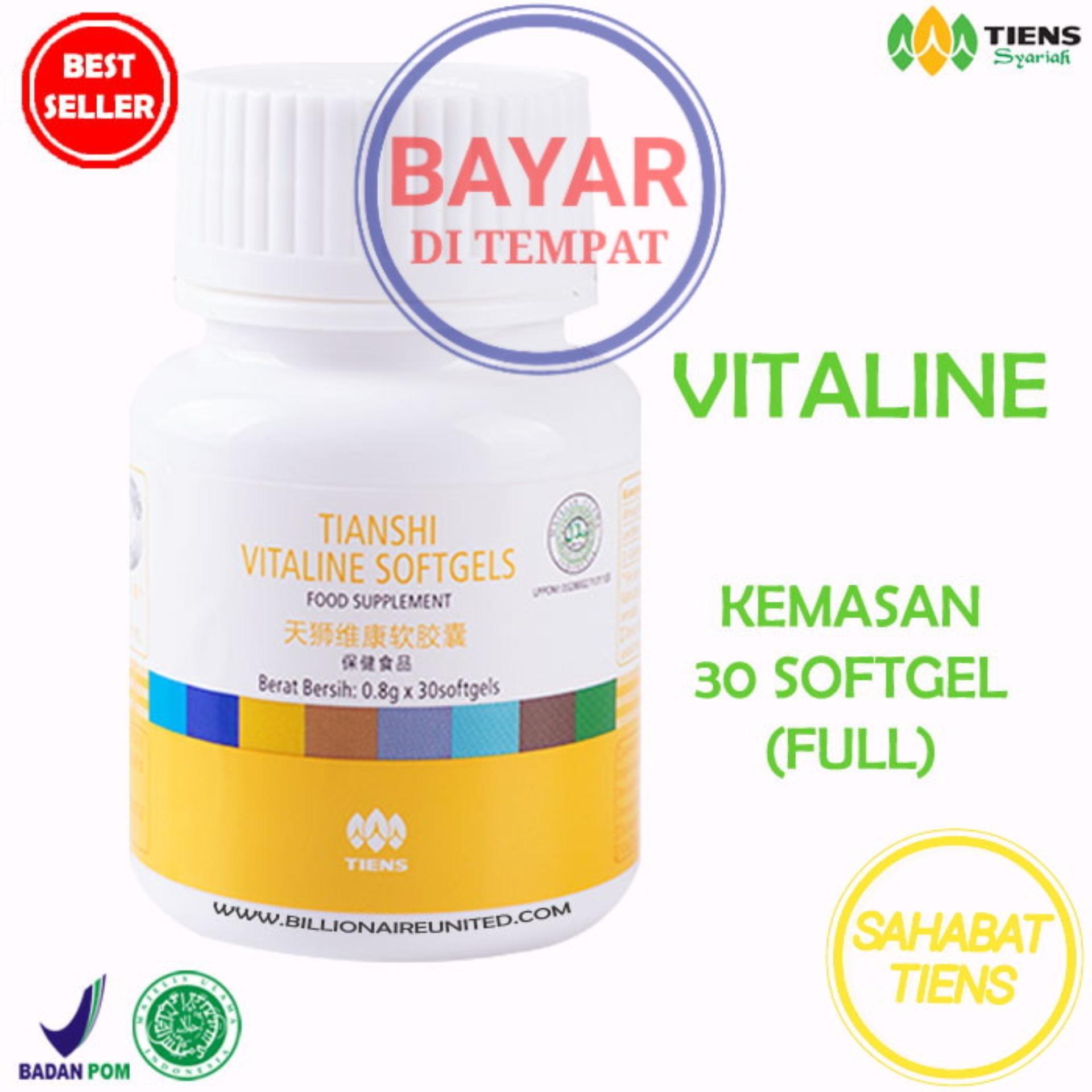 Jual Tiens Vitaline Pemutih Kulit Wajah Dan Tubuh Terbaik Dengan Vitamin E Free Kartu Member St Tiens Asli