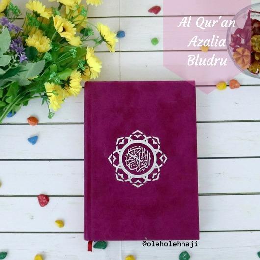 Toko Nabawi Al Quran Azalia Bludru Ungu Terlengkap