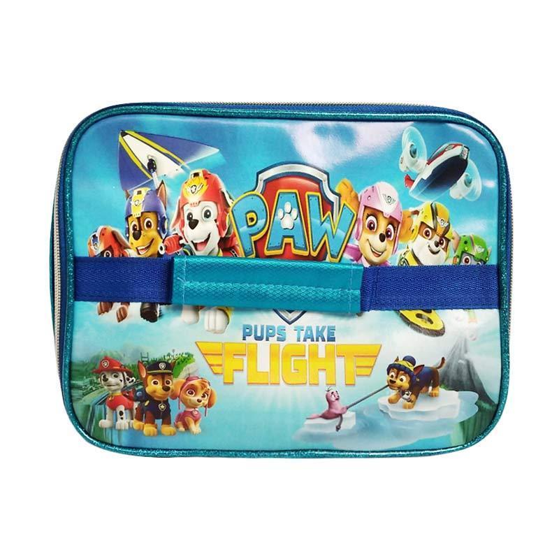 0930050026-1   Paw Patrol Foil Lunch Box Tas Anak Sekolah - Biru