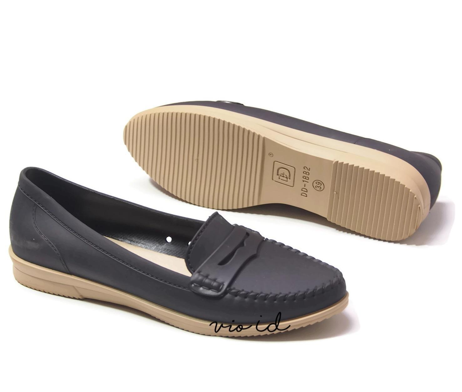 ... Flat Shoes Cewek Bara - Sepatu Formal Jelly DD1882 Warna Dikirim Random - 3