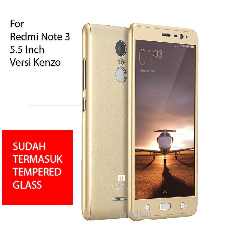 Calandiva Premium Front Back 360 Degree Full Protection Case Quality Grade A With Tempered Glass for