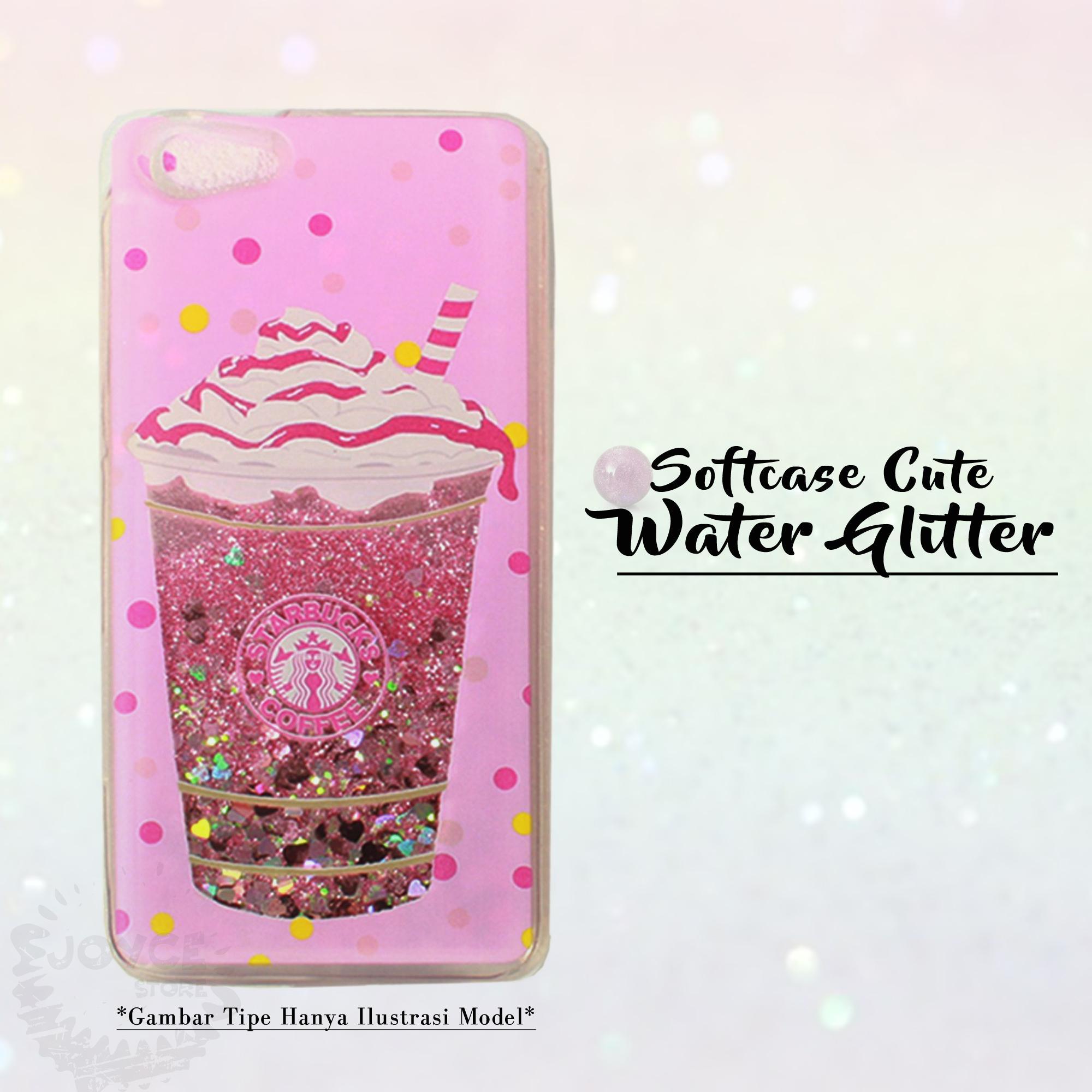 Joyce Soft Water Gliter Case for Oppo F7 (Random)