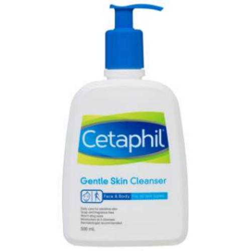 Spesifikasi Cetaphil Gentle Skin Cleanser 500Ml Stock Baru Exp 01 2020