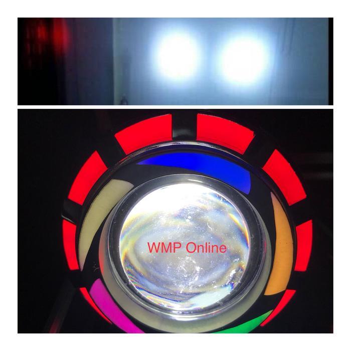 Lampu Projie U26R Rainbow 2 Sinar 3.5 Inch Angel Bulat Runing WMP-0986