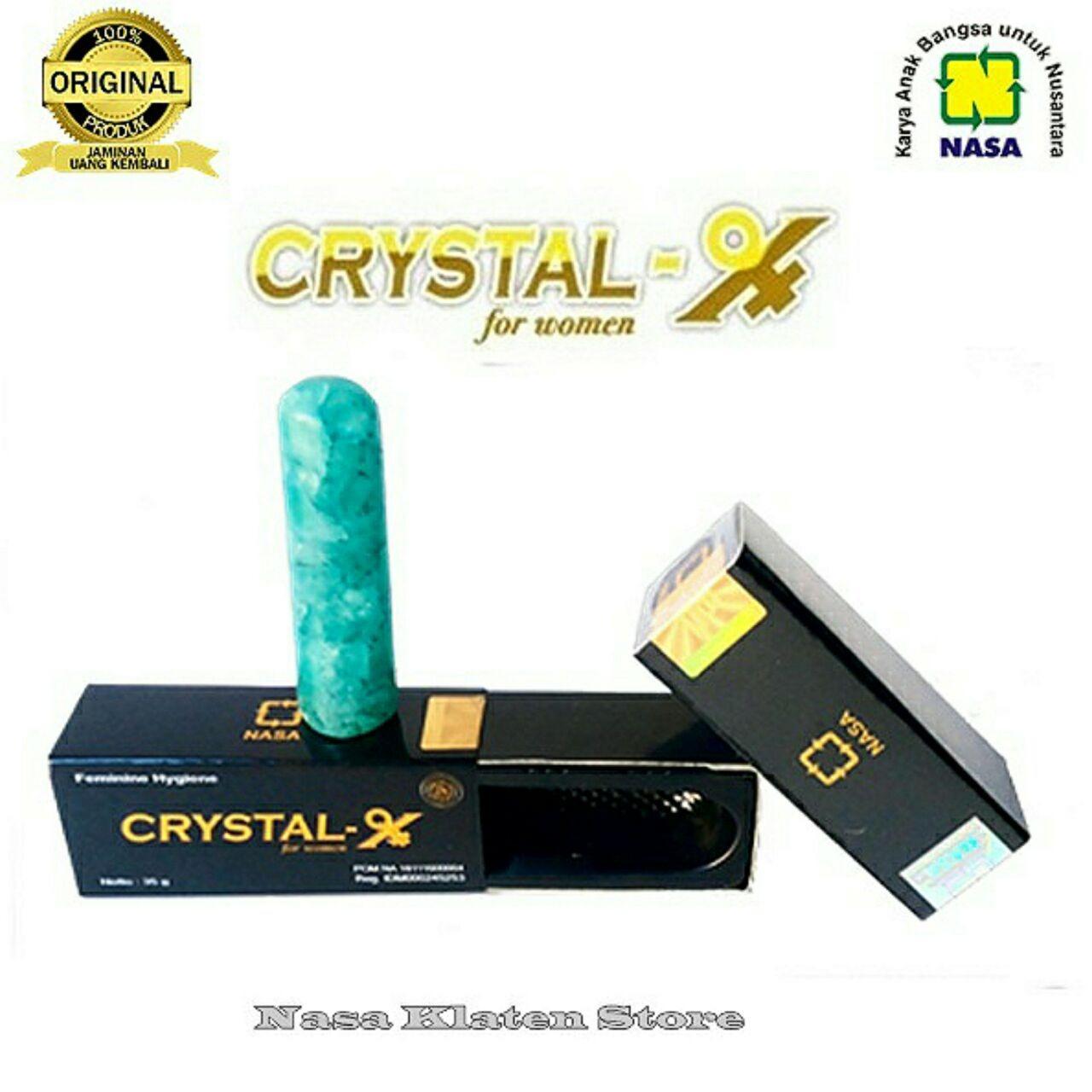Jual Beli Online Natural Crystal X Original