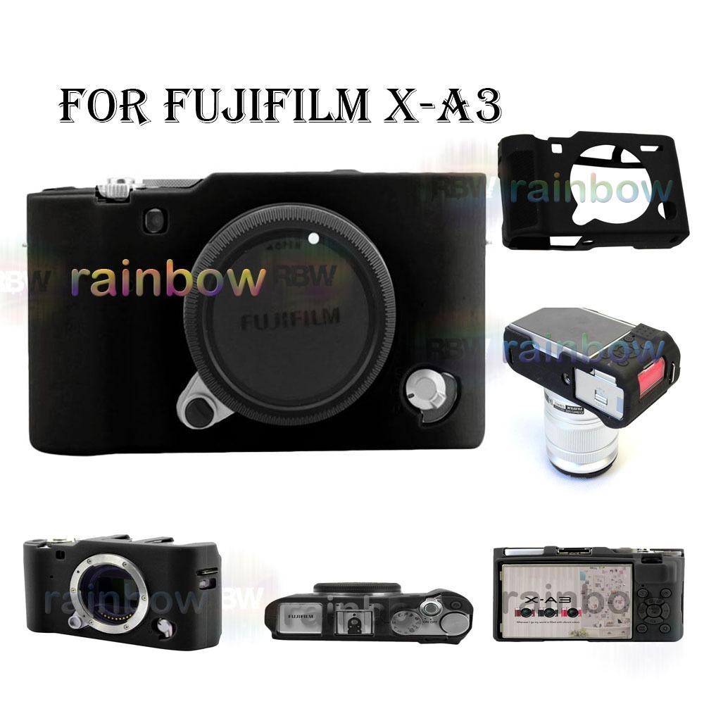 Harga Rainbow Silikon Case Camera Fujifilm X A3 Rubber Camera Case Fujifilm X A3 Jelly Case Kamera Xa3 Sarung Kamera Casing Kamera Xa 3 Hitam Online