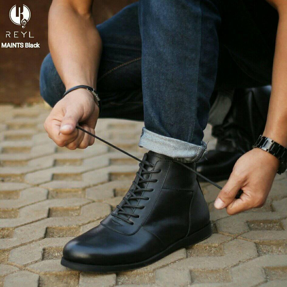 Reyl - Sepatu Pria Pantofel REYL Mintz PDH Brodo Handmade Kerja Formal  Resmi . 275eef3038