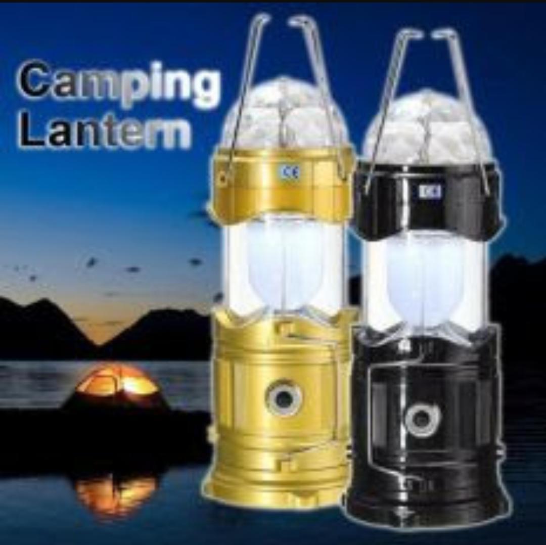 Lampu Lentera Tarik Senter Dan Disco Powerbank / Lampu Emergensi charger sollar cell