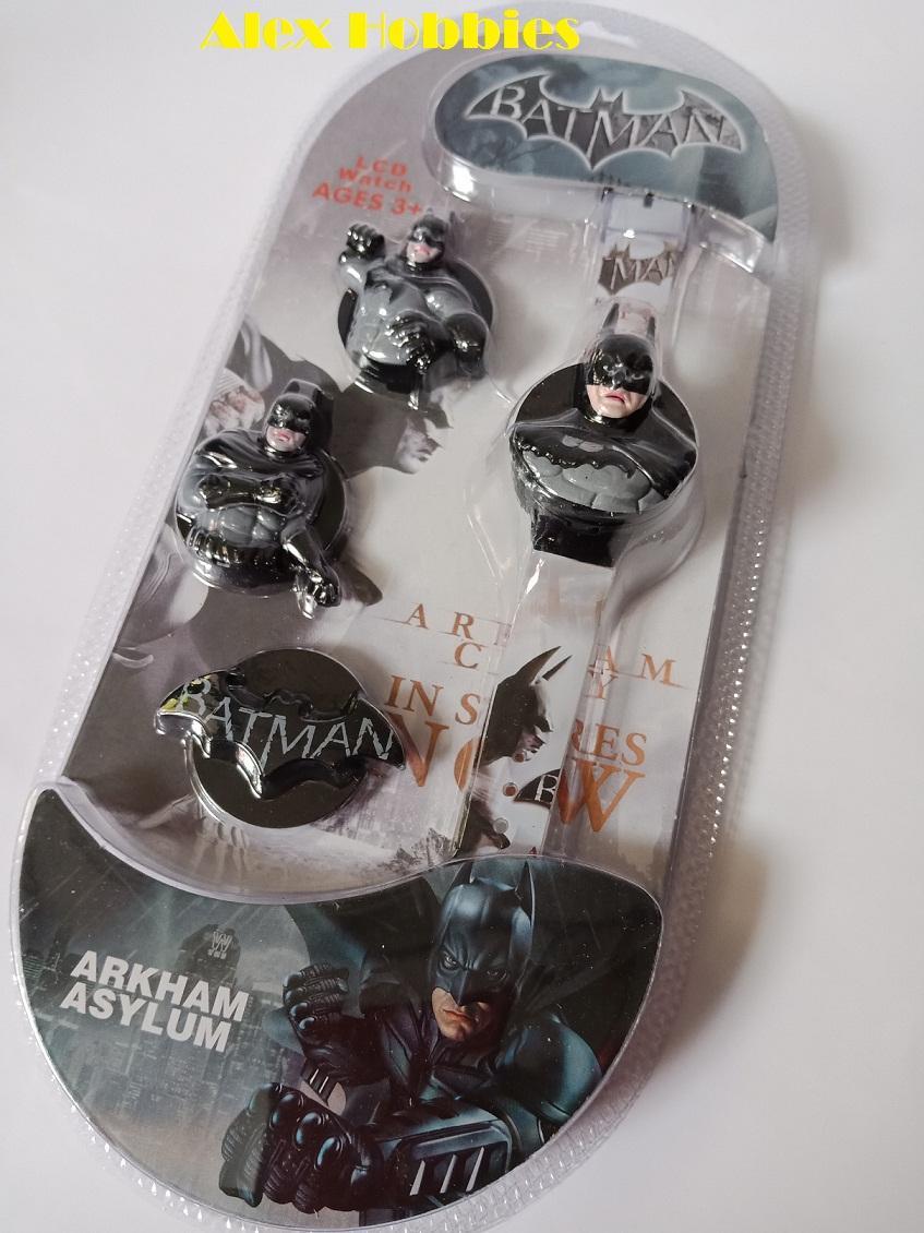 Fitur Jam Tangan Karakter Anak Laki Model Batman 4 In 1 Dan Thomas Detail Gambar Terkini