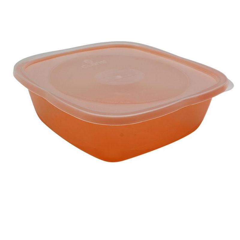 Claris Lunch Box Square / Kotak makan serbaguna / Tempat penyimpanan makanan / Kulkas organizer /