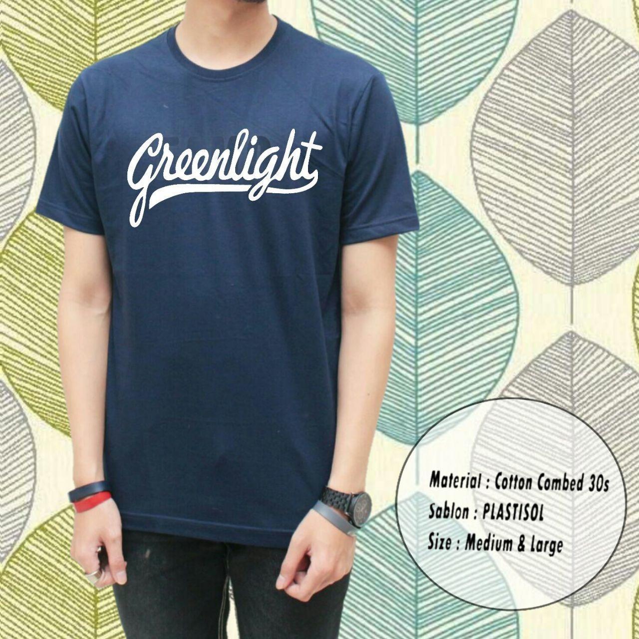 Jual Kaos Distro Greenlight Anak Muda Special Terbaru Kaos Distro Branded