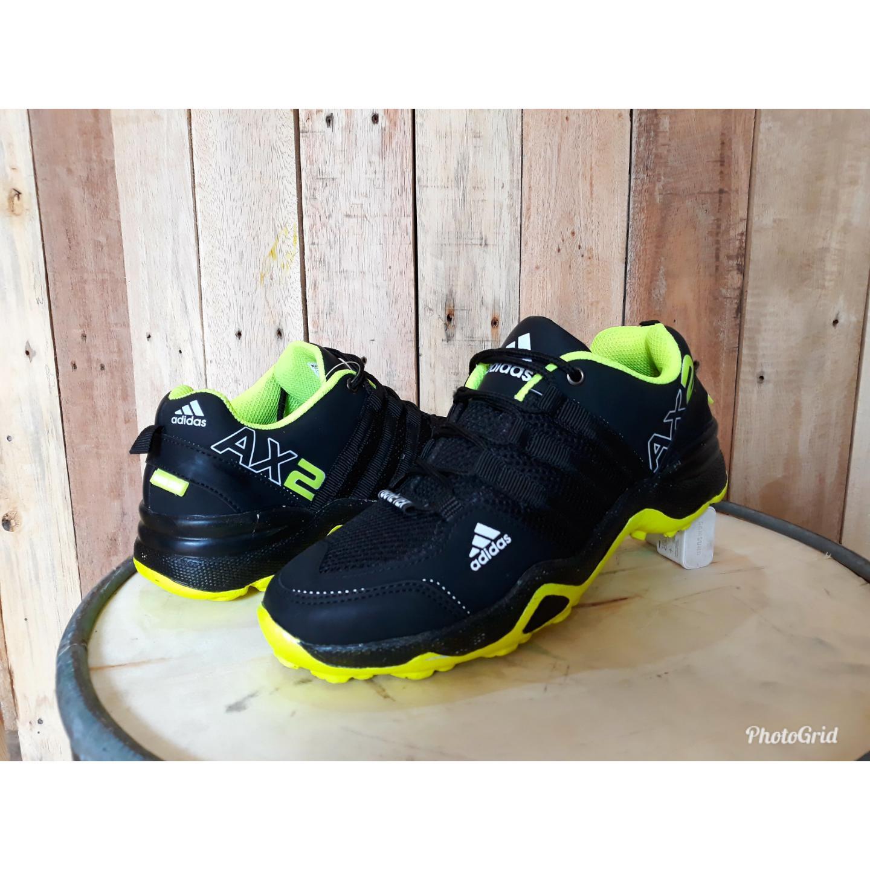 Spesifikasi Sepatu Olahraga Sport Adidas Ax2 Lari Jogging Runing Senam Gym Fitnes Pria Kerja Santai Berkualitas Sepatu Casual