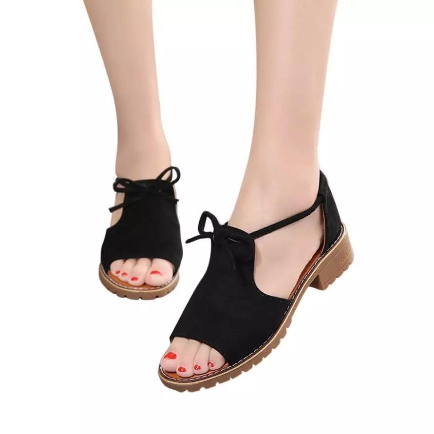 ... Ginshashop - Sandal Flat Wanita Pita GFS - 850 Flatshoes Murah Flat Tali Flip Flop -