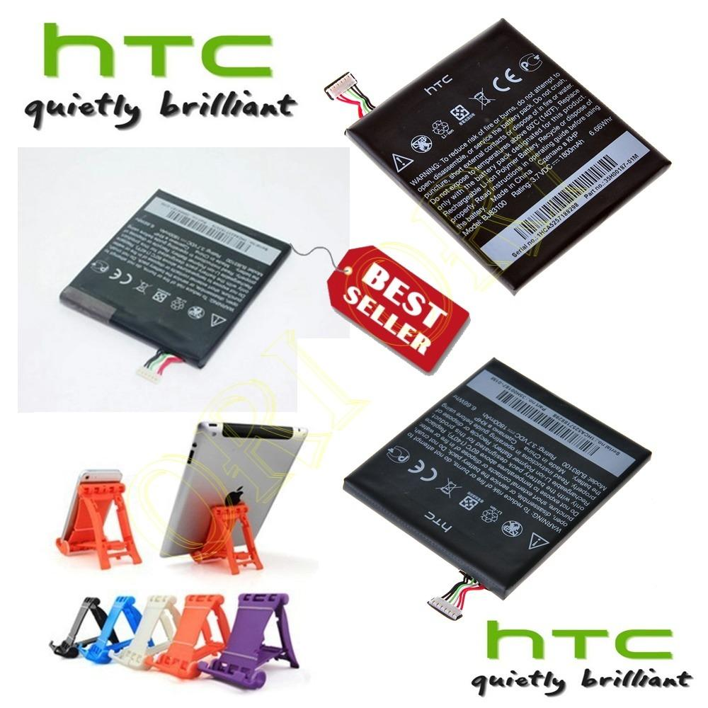 Htc Baterai / Battery HTC One X Original BJ83100 Kapasitas 1800mAh + Multi Stand Holder Dudukan Hp - Universal For Smartphone Android [ ori ori ]