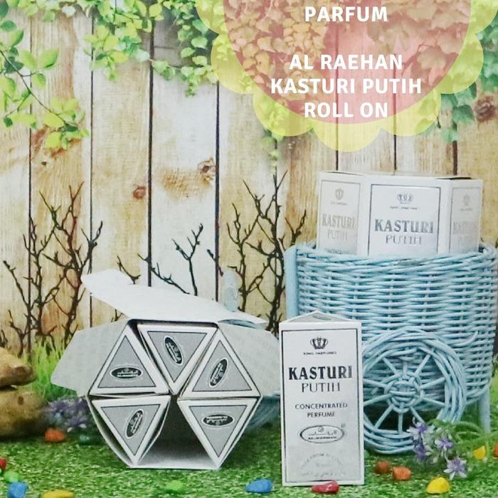 Nabawi Parfum Al Raehan Kasturi Putih Jawa Timur Diskon
