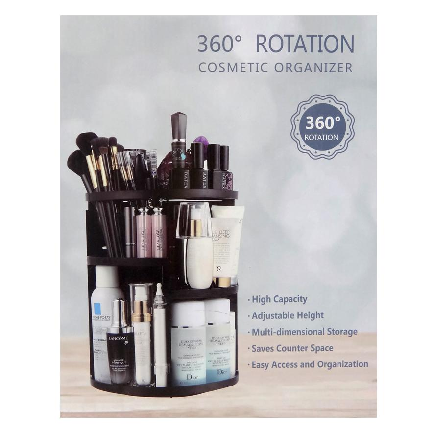 Beau 360 Degree Rotating Cosmetic Organizer - S - 3 .