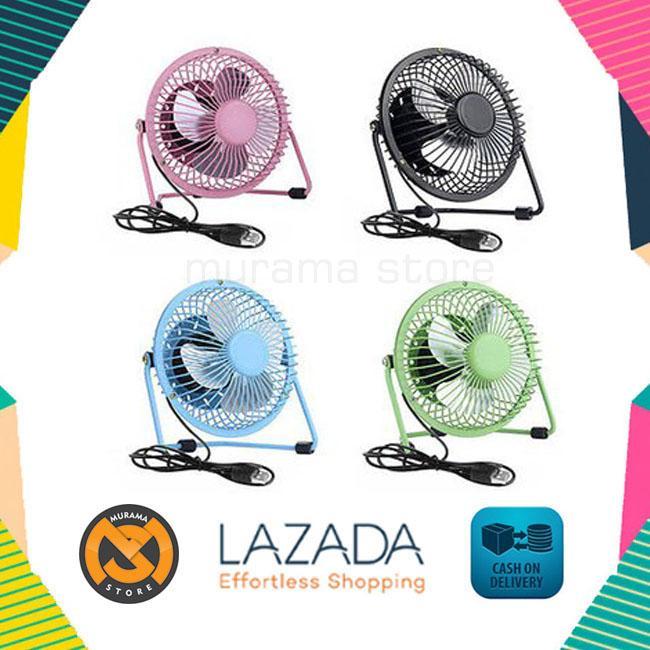 ... Portable Mini Fan USB / Kipas Angin Kecil Model Besi - 3