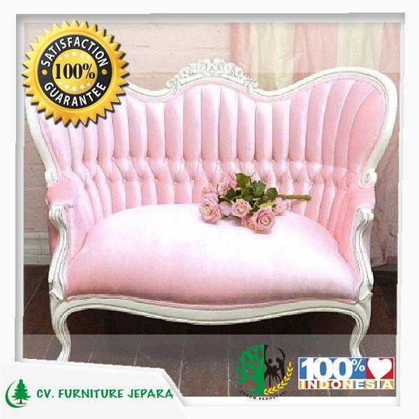 Kursi Tamu Pink Prince Mewah