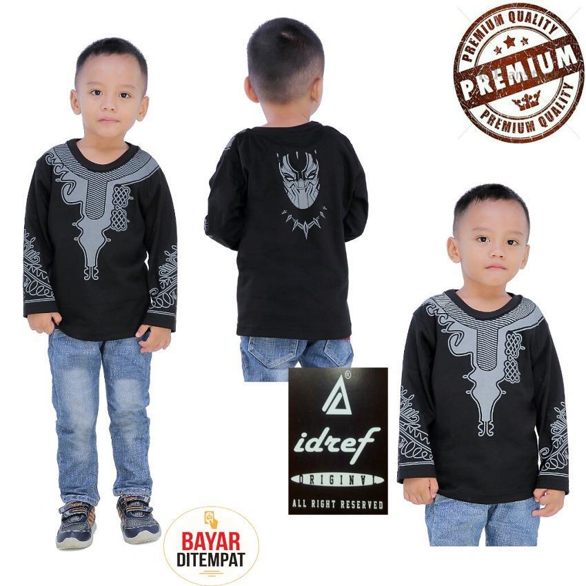 Harga Idref Baju Koko Kaos Anak Black P Distro Seken