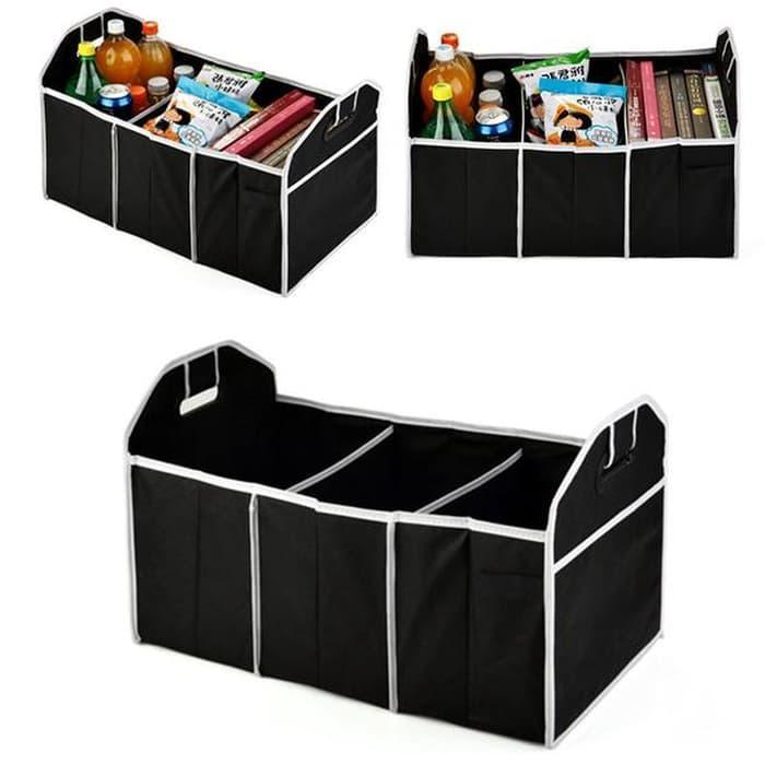 Kotak Organizer Box Penyimpanan Bagasi Belakang Mobil