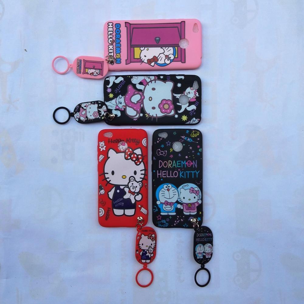 Detail Gambar Redmi 4X Softcase Gambar Hello Kitty Free Gantungan Lucu Terbaru