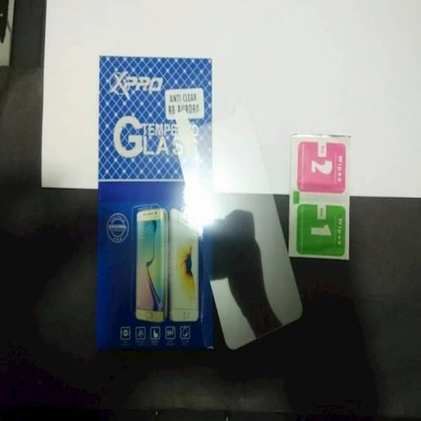Tempered Glass Blackberry Aurora Anti Gores Kaca BB Aurora Merk  X-Pro