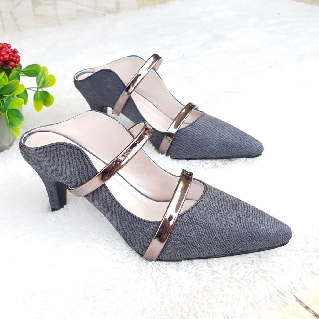Review Pumps Shoes Sepatu Heels Wanita Hak 5 Cm Its63 Dan Harga ... bbf458f5f1