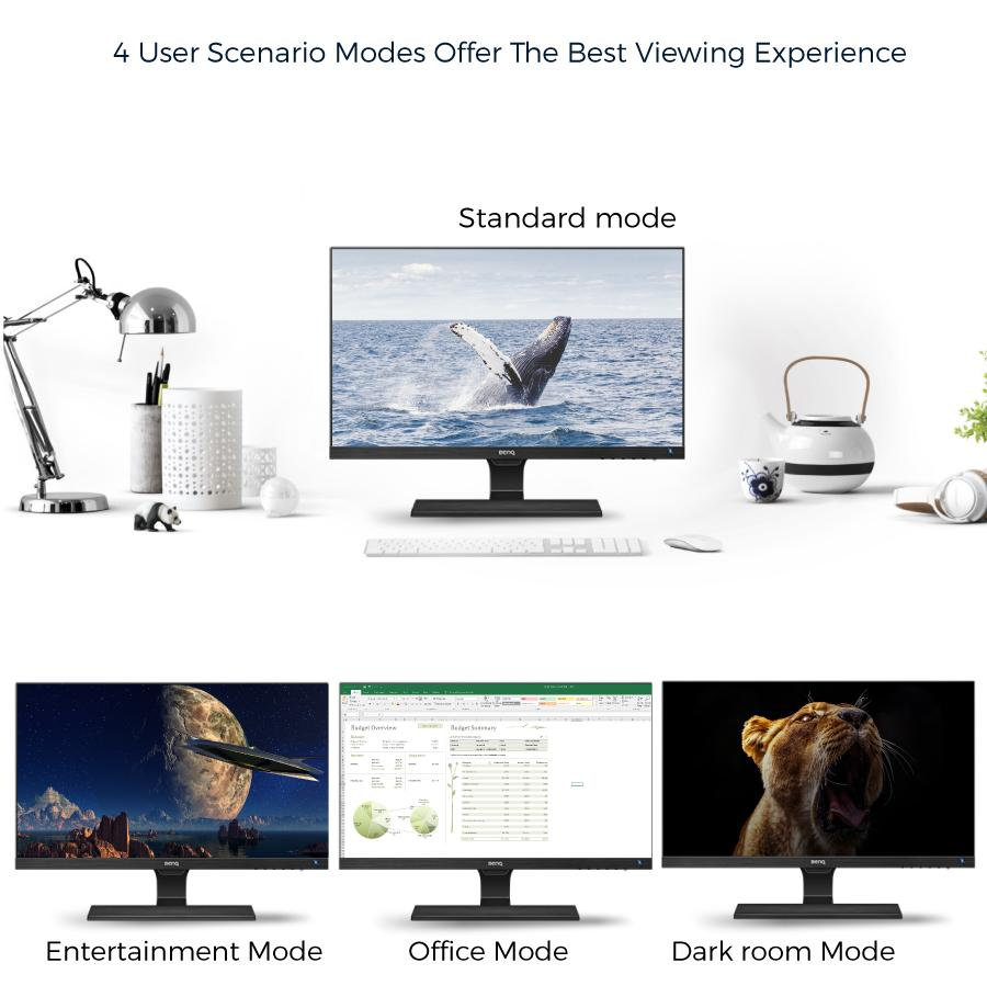 BenQ EW2775ZH 27 inch Full HD HDMI Brightness Intelligence Teknologi Eye Care LED Monitor