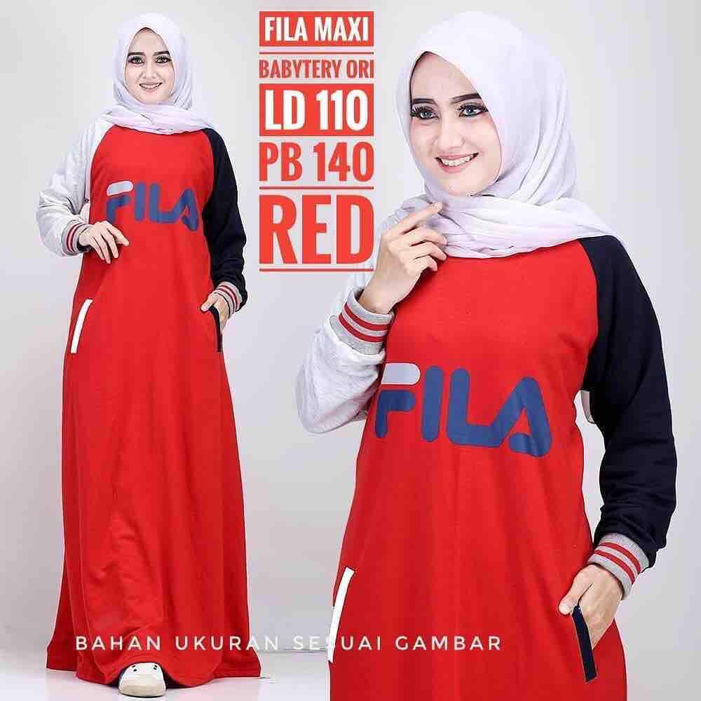 Features Gamis Wanita Baju Muslim Fila Gamis Fila Gamis Terbaru