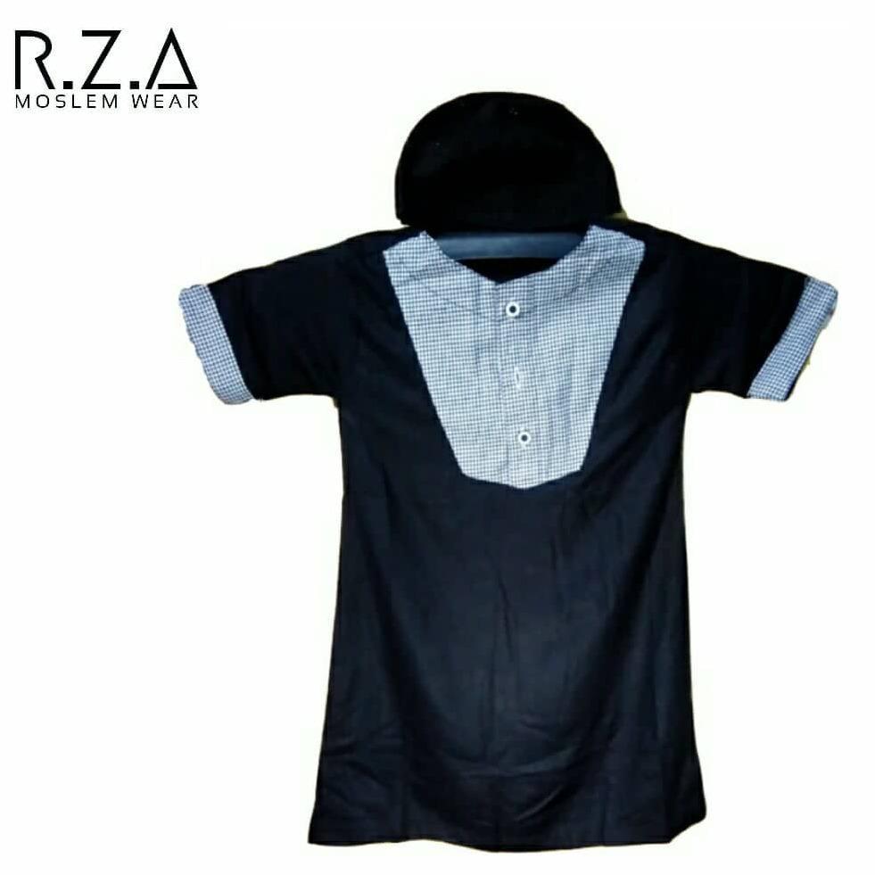 RZA Moslem Wear Gamis Anak Baju Jubah Koko Bayi Dan Balita Model Pakistan 2 TAHUN