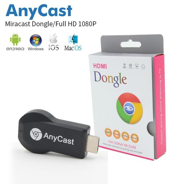 Anycast M2 DLNA Airplay WiFi Display Miracast TV Dongle HDMI Multi-display Receiver AirMirror Mini