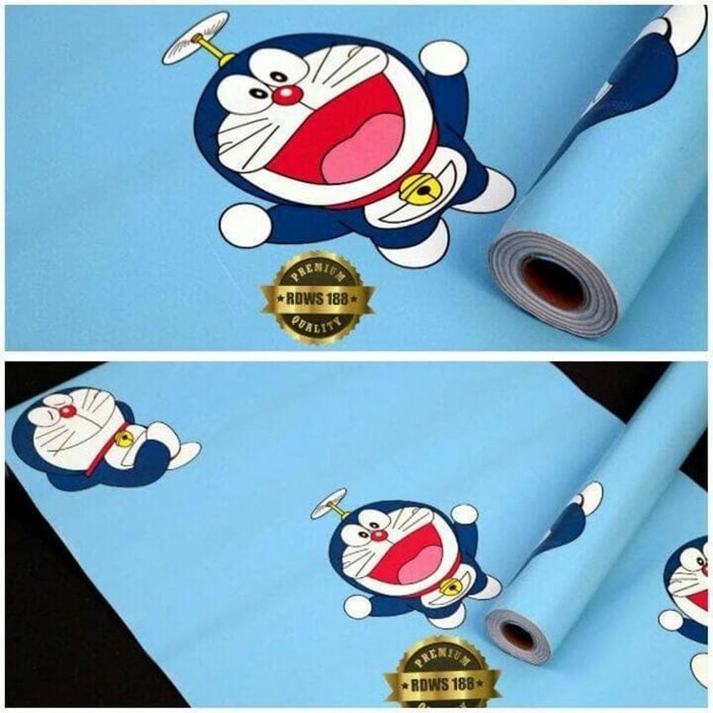 Cek Harga Baru Wallpaper Sticker Dinding Kamar Karakter Doraemon Di Awan