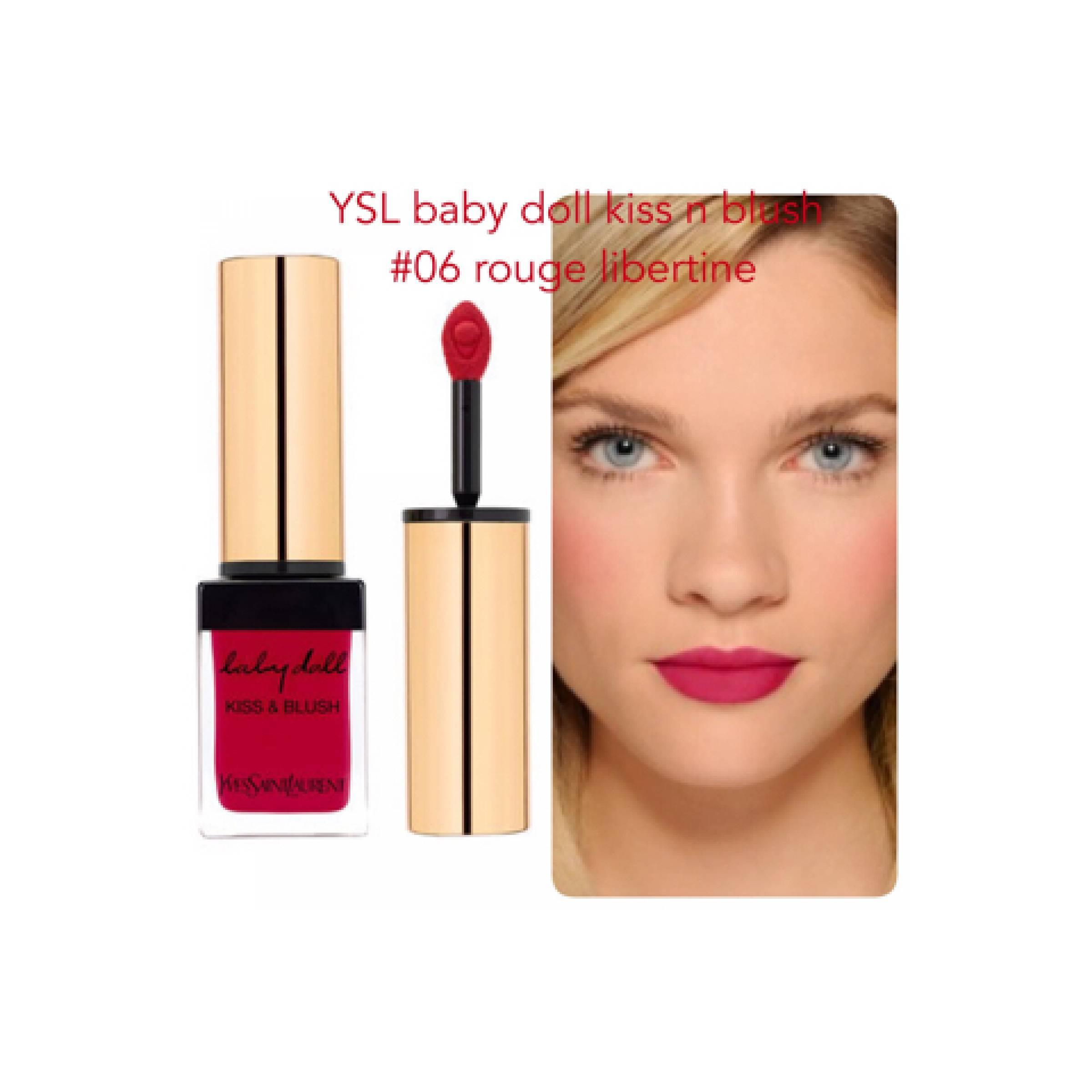 ysl kiss n blush baby doll no 6
