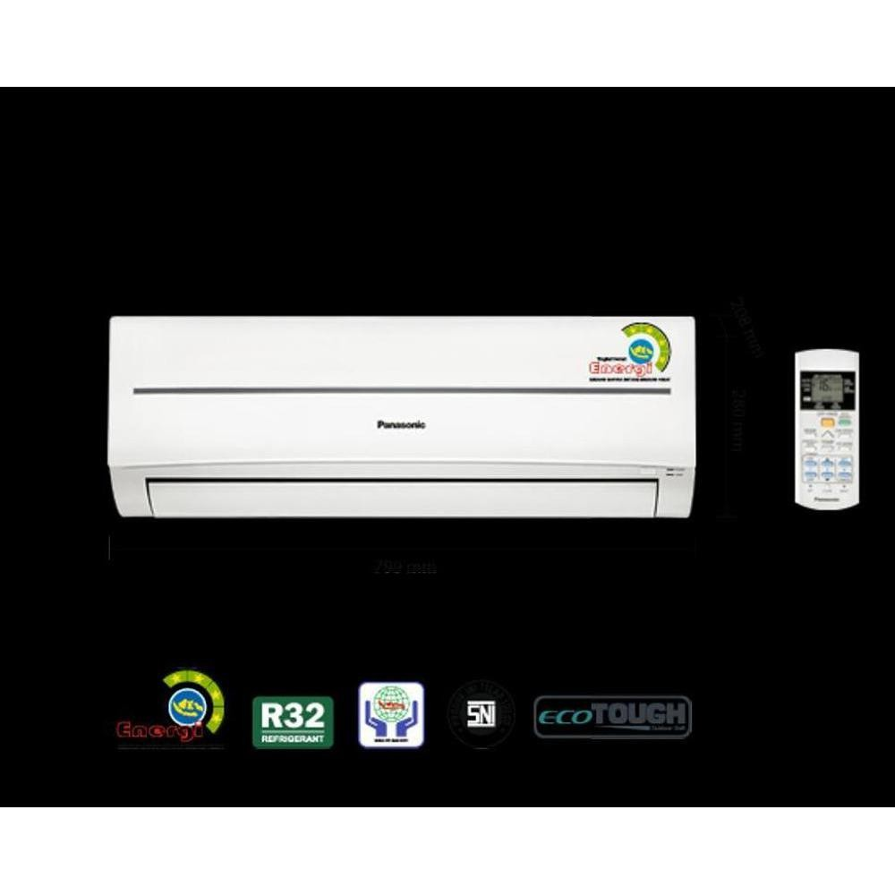 Super Promo Ac Panasonic 1.2 Pk Low Watt Econavi Cs-Xn5Skj .Freon R32. 320 W. Murah