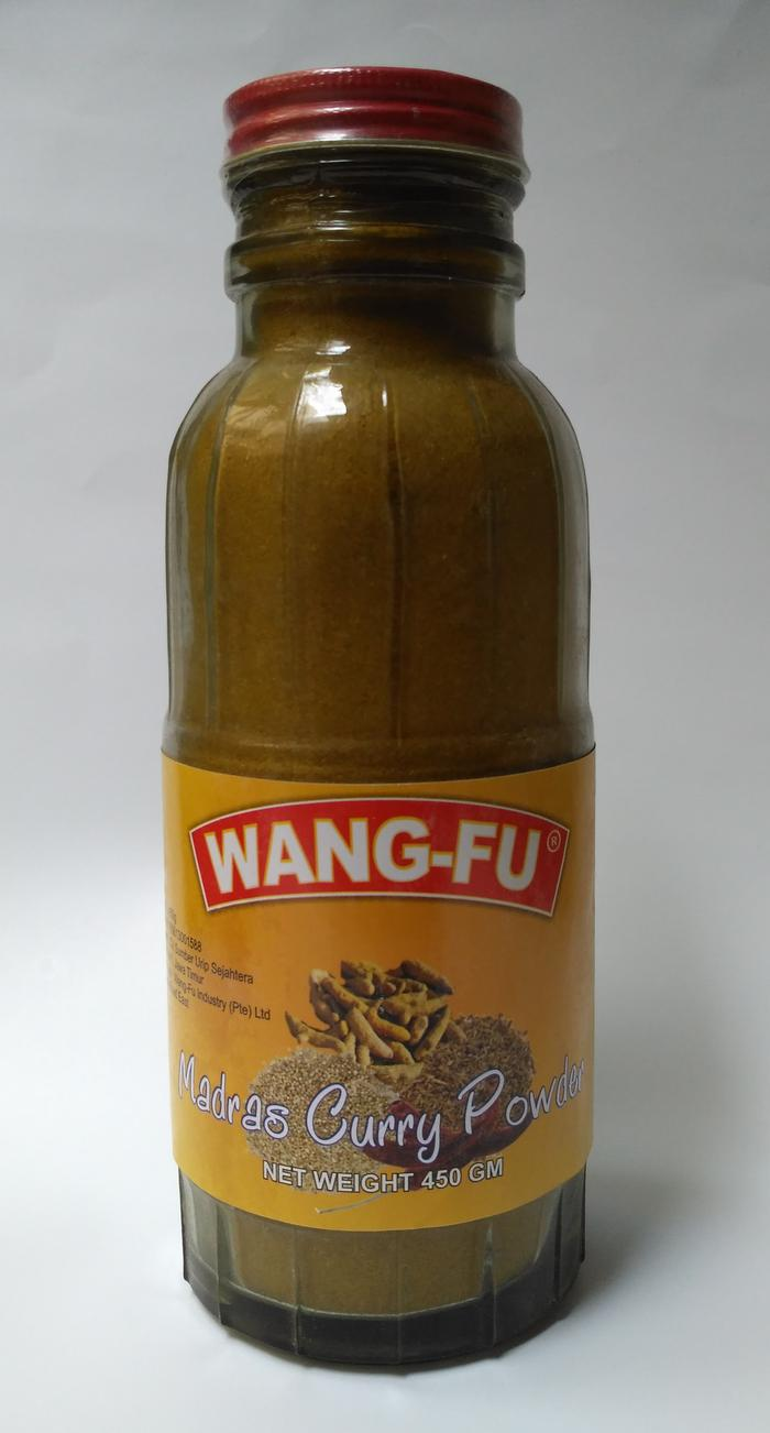 Madras Curry Powder / Bubuk Kari 450gr brand Wang Fu