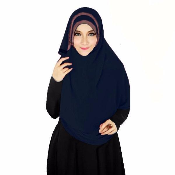 Hijabku Murah Athalia Hijab Kerudung Instan - [Warna Dongker]