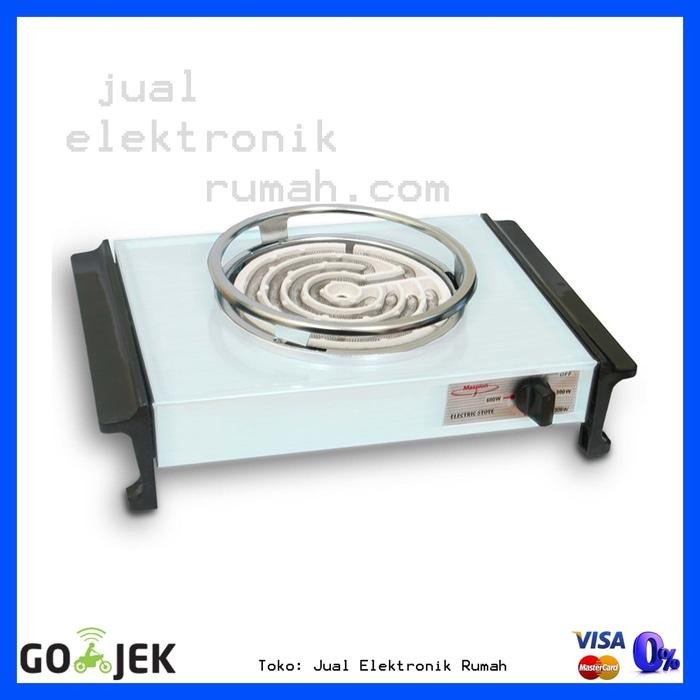 ORIGINAL - Electric Stove Kompor Listrik Maspion 600 Watt  SH31 Best Seller