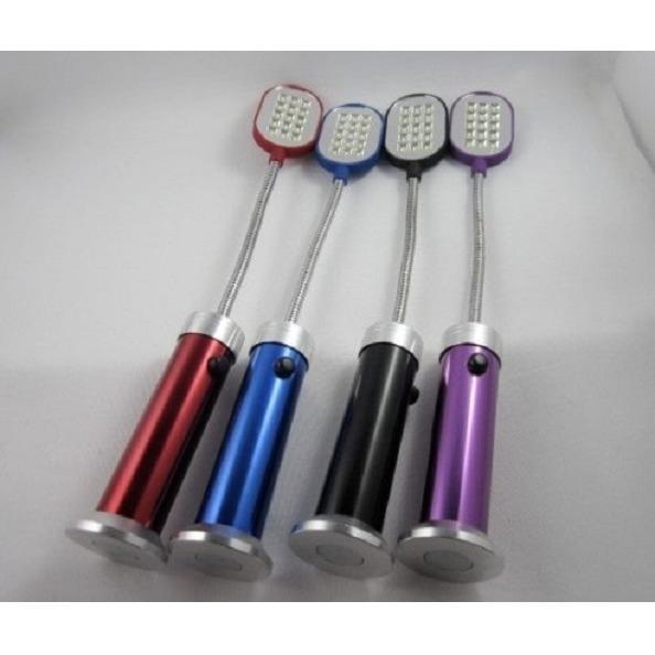 Lampu senter LED tekuk untuk baca kerja alas magnet bisa nempel - FIDUCIA