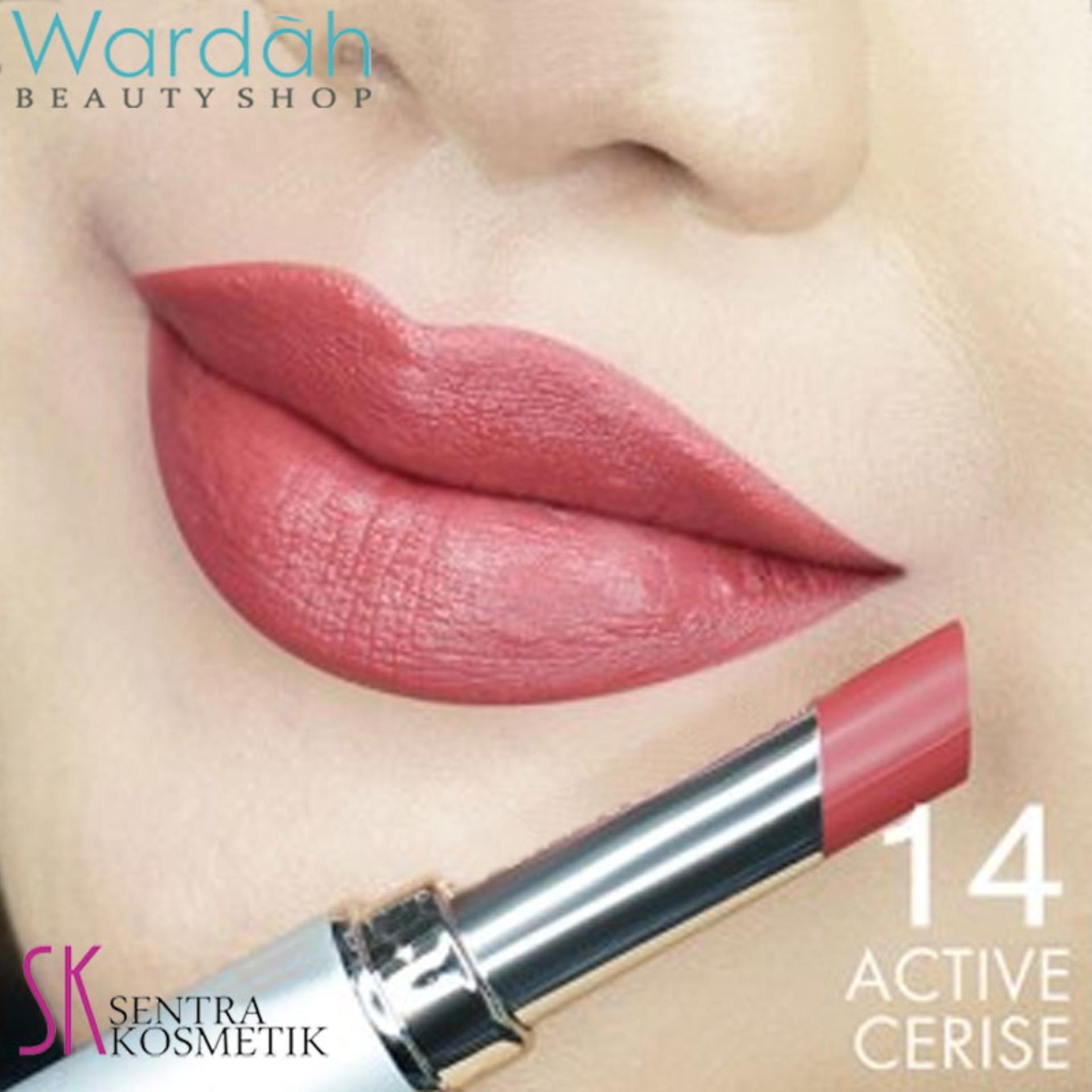 Wardah INTENSE MATTE LIPSTICK 14 - Active Cerise