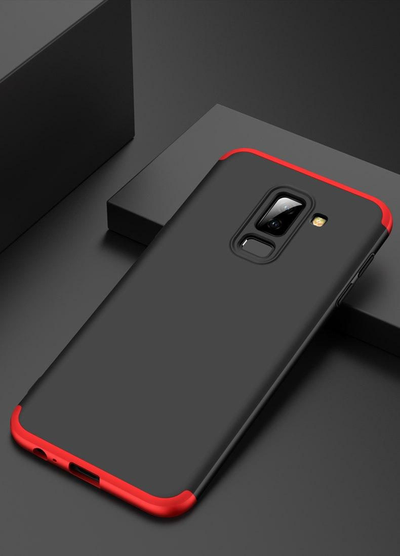 Accessories Hp CASE GKK Hardcase 360 Full Protective For Samsung Galaxy A6 PLUS 2018 - Merah ...