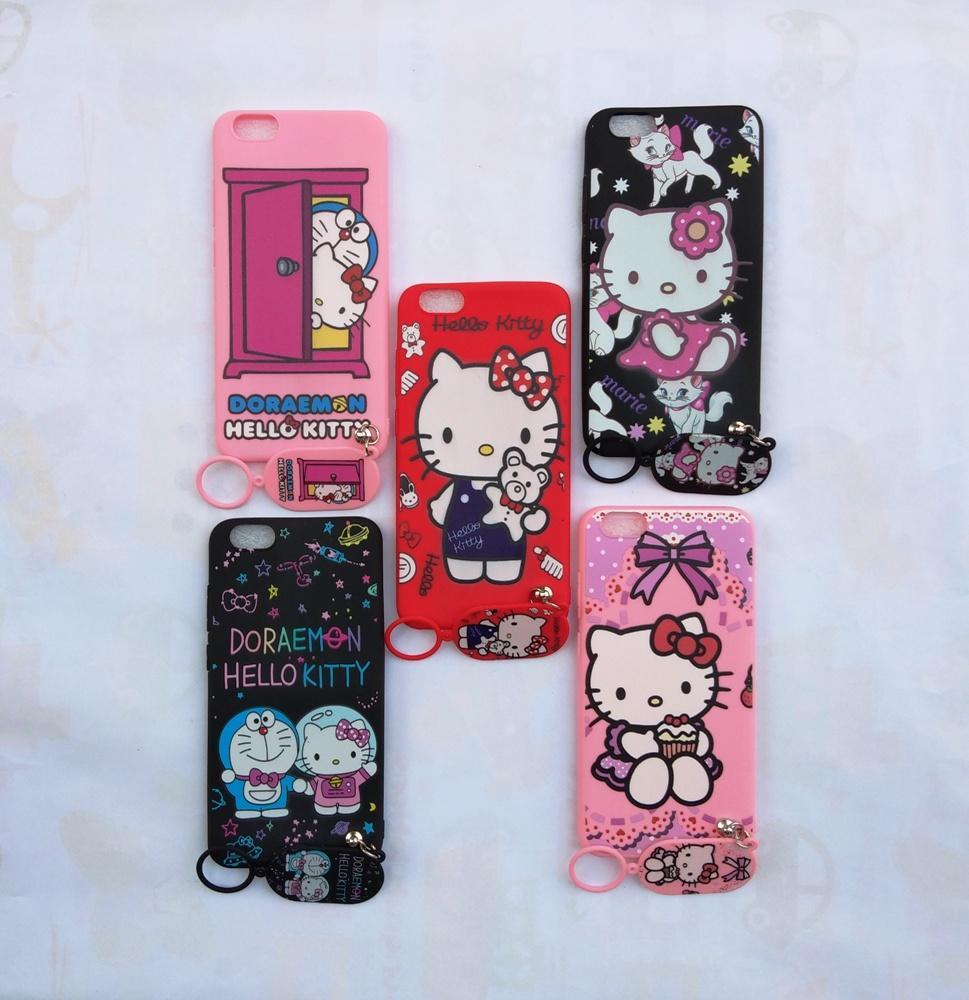 Detail Gambar Vivo Y69 Softcase Gambar Hello Kitty Free Gantungan Lucu Terbaru