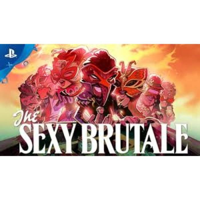 Promo KASET GAME ORIGINAL PS4 THE SEXY BRUTALE REG 2 Limited
