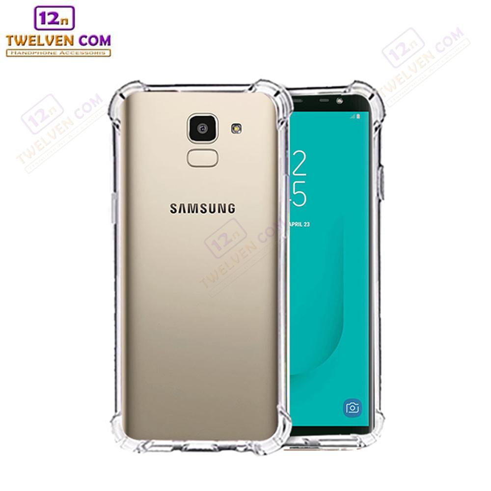 Case Anti Shock Anti Crack Softcase Casing for Samsung J6 2018 - Clear