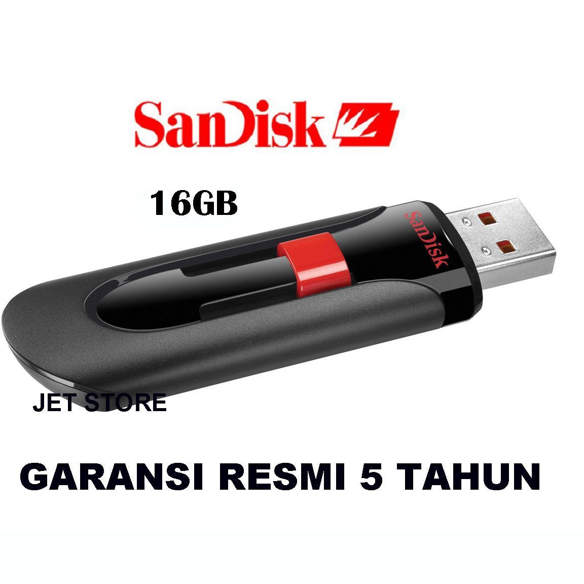 Kelebihan Sandisk Flashdisk Cruzer Blade 16 Gb Terkini Daftar Original Glide Cz60 Hitam