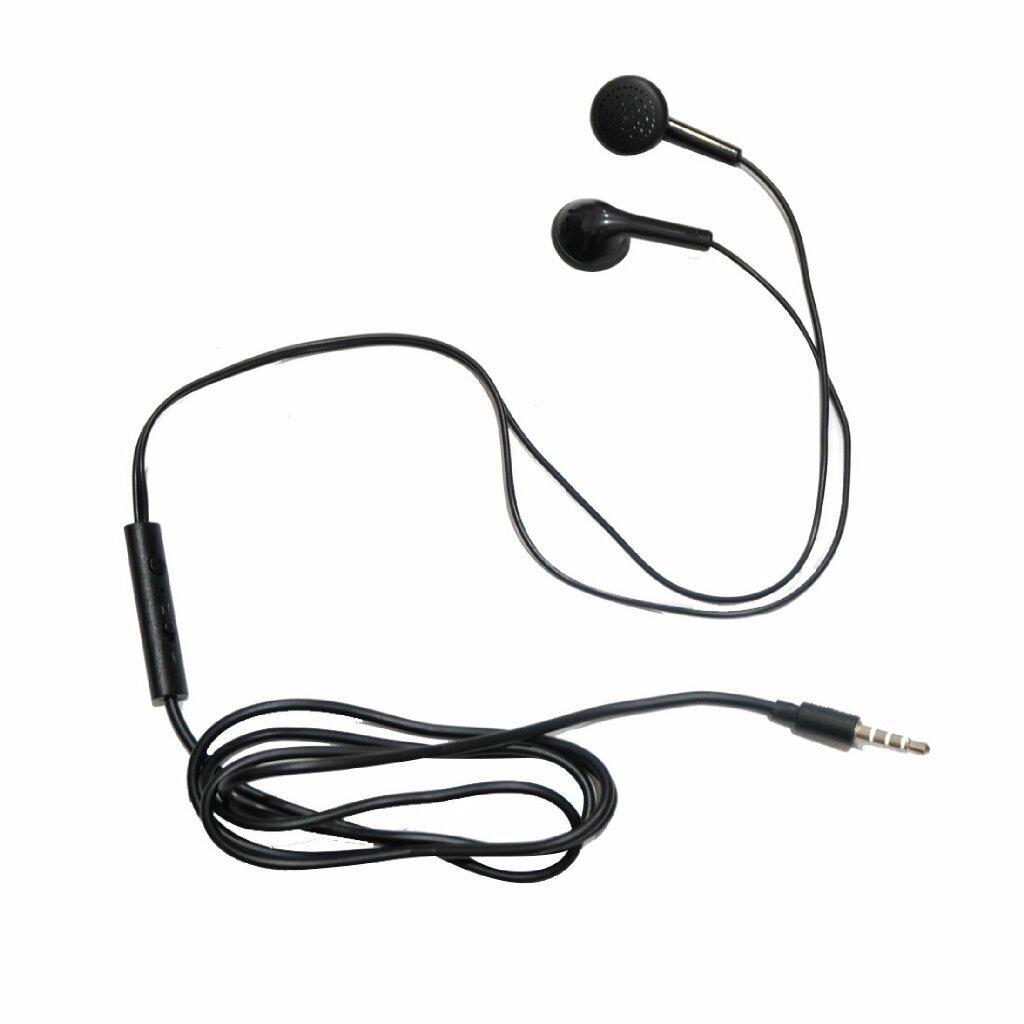 MSH 102 Earphone Mega Bass Handsfree Stereo Headset Stereo Universal jack 3.5mm - Black